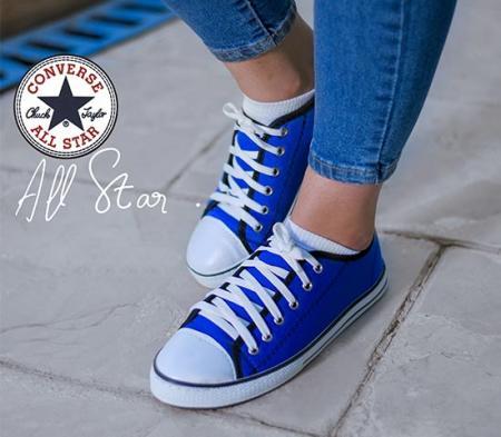 کفش دخترانه مدل ALL STAR (آبی)